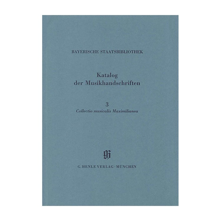 G. Henle VerlagCollectio Maximilianea Henle Books Series Softcover