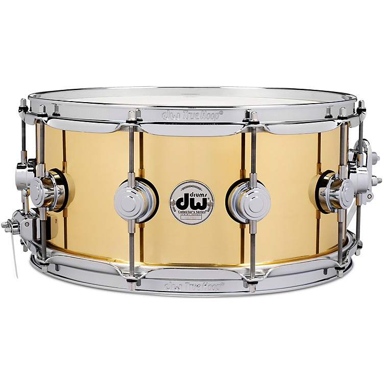 DWCollector's Series Brass Snare Drum14 x 6.5 in.Polished