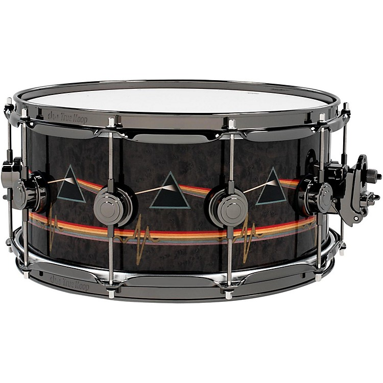 DWCollector's Series Pink Floyd Icon Snare14 x 6.5 in.Black Nickel Hardware