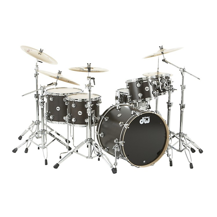 DWCollector's Series Satin Oil 5-Piece Shell PackEbonyChrome Hardware