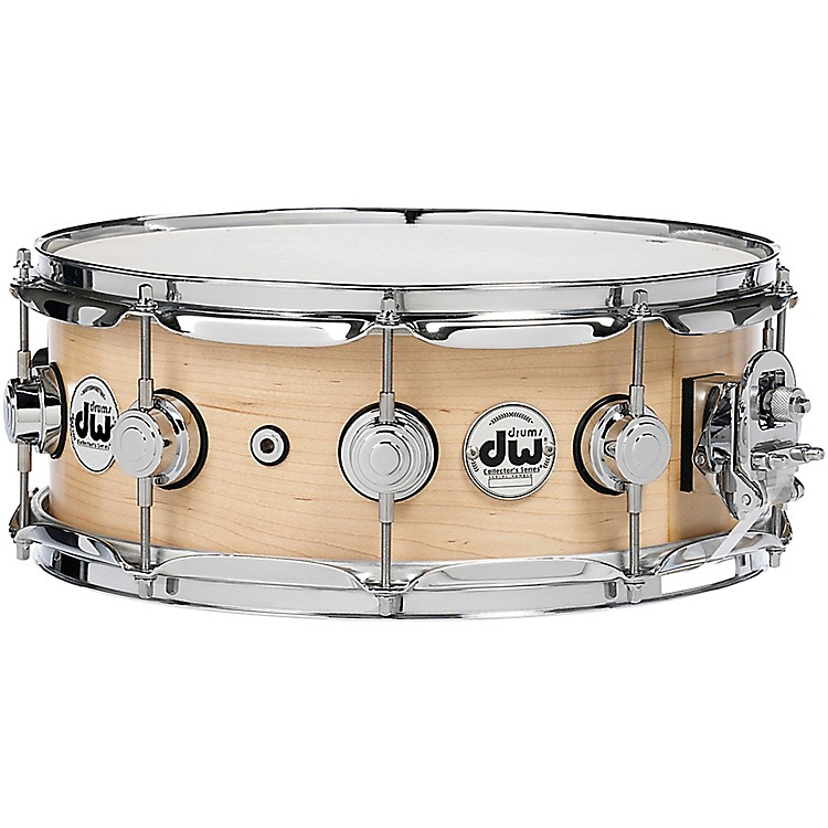 DW Collector's Series Satin Oil Snare Drum 14 x 5 in. Natural with Chrome Hardware