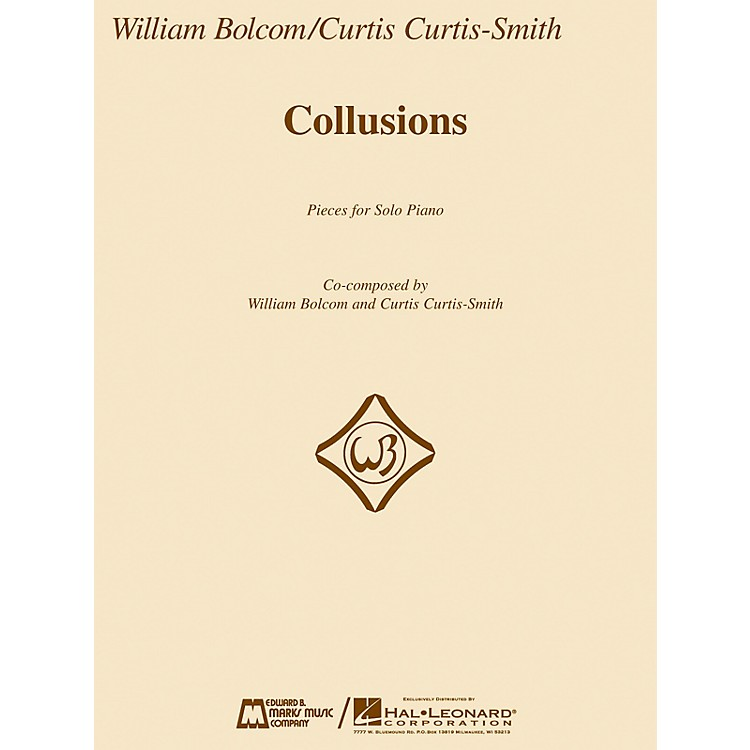 Edward B. Marks Music CompanyCollusions (Pieces for Solo Piano) E.B. Marks Series Softcover
