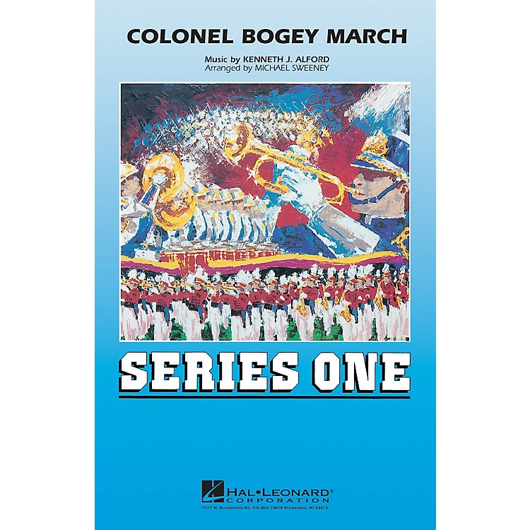 Hal LeonardColonel Bogey March Marching Band Level 2 Arranged by Michael Sweeney
