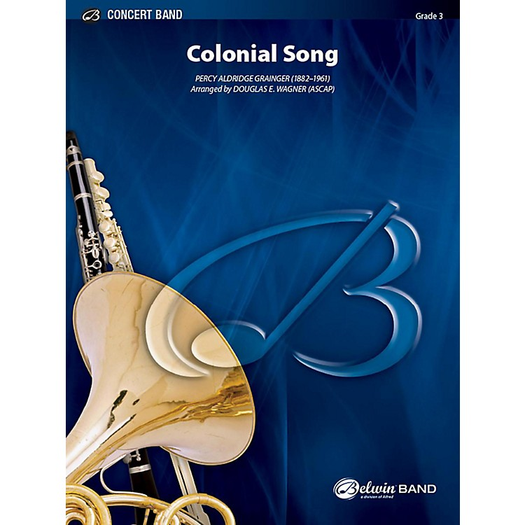 AlfredColonial Song Concert Band Grade 3 Set