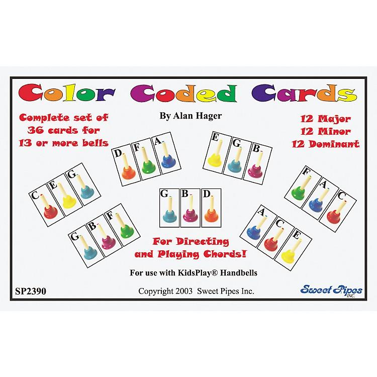 Rhythm BandColor Coded Handbell Cards/36 Chords