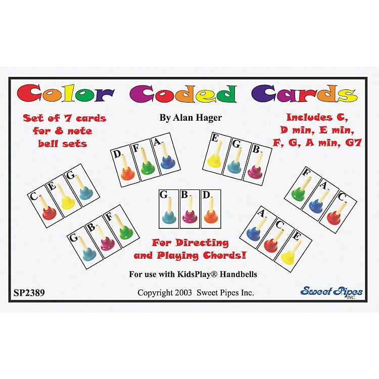 Rhythm BandColor-Coded Handbell Cards/7 Chords