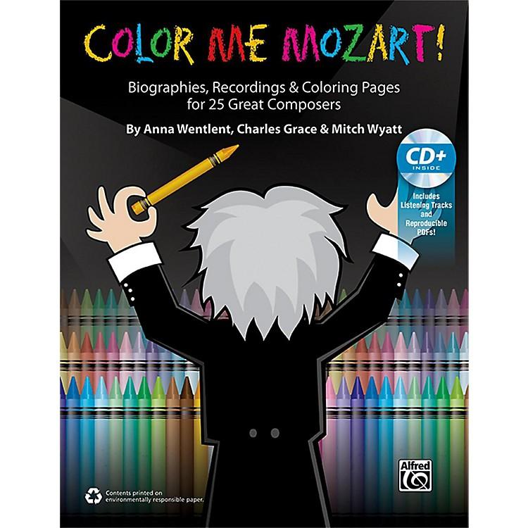 AlfredColor Me Mozart! 100% Reproducible Book & Enhanced CD
