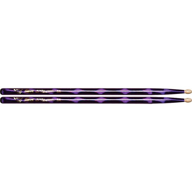 VaterColor Wrap Wood Tip Sticks - Pair5APurple Optic