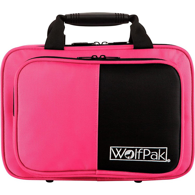 WolfPak Colors Series Lightweight Polyfoam Clarinet Case Pink