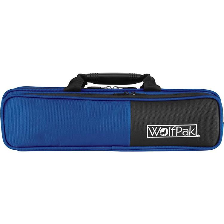 WolfPakColors Series Lightweight Polyfoam Flute CaseBlue