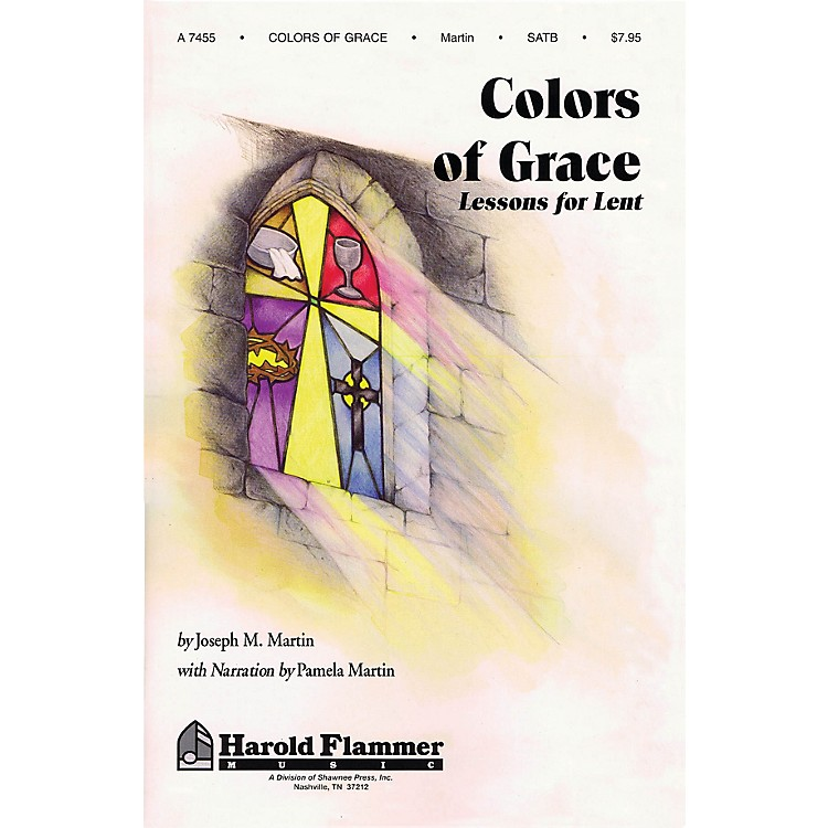 Shawnee PressColors of Grace (Lessons for Lent) Studiotrax CD Composed by Joseph M. Martin
