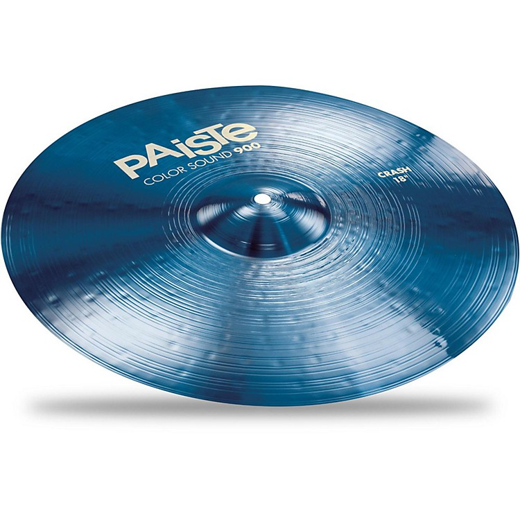 Paiste Colorsound 900 Crash Cymbal Blue 18 in.
