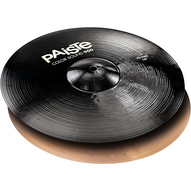 Paiste Colorsound 900 Hi Hat Cymbal Black 14 in. Pair