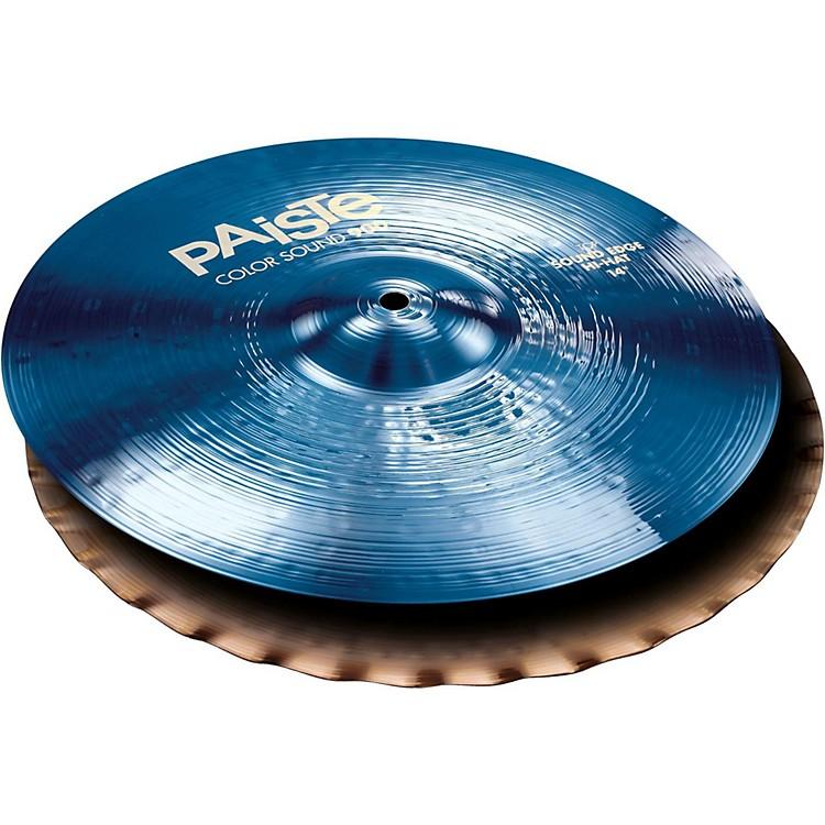 PaisteColorsound 900 Sound Edge Hi Hat Cymbal Blue14 in.Pair