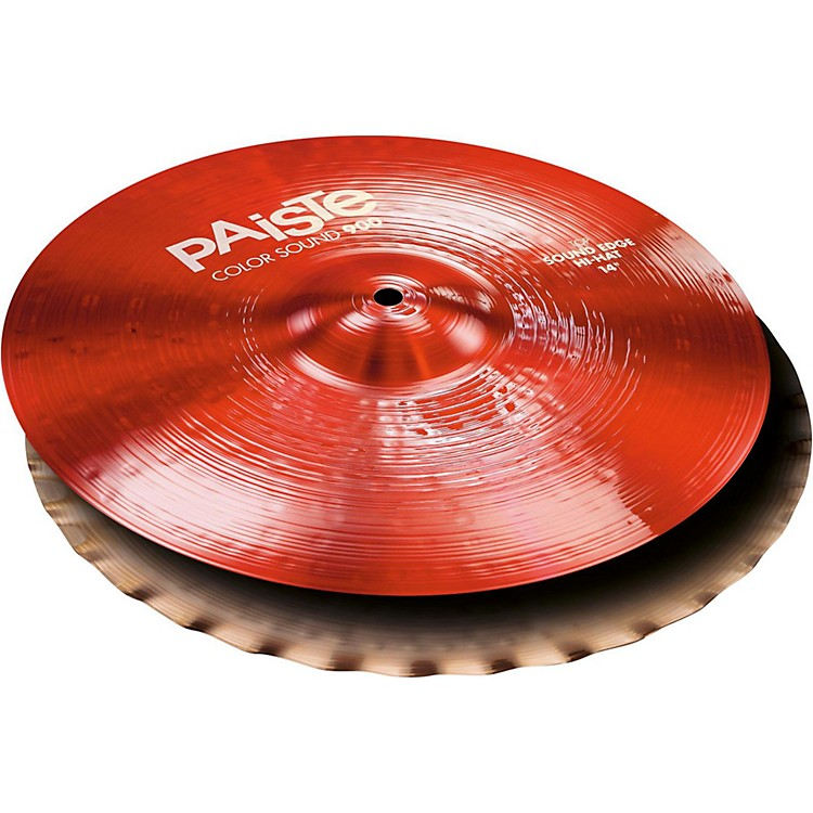 PaisteColorsound 900 Sound Edge Hi Hat Cymbal Red14 in.Pair