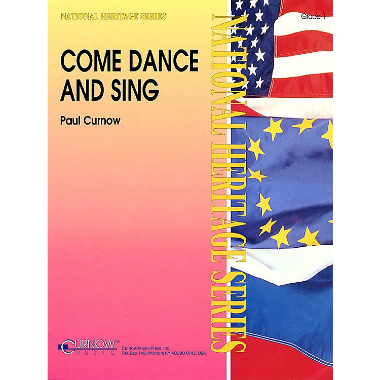 Curnow MusicCome Dance and Sing (Grade 1 - Score Only) Concert Band Level 1 Composed by Paul Curnow