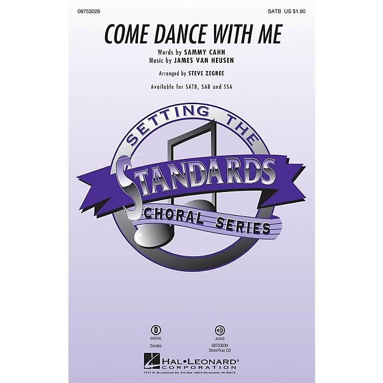 Hal LeonardCome Dance with Me SSA by Frank Sinatra Arranged by Steve Zegree