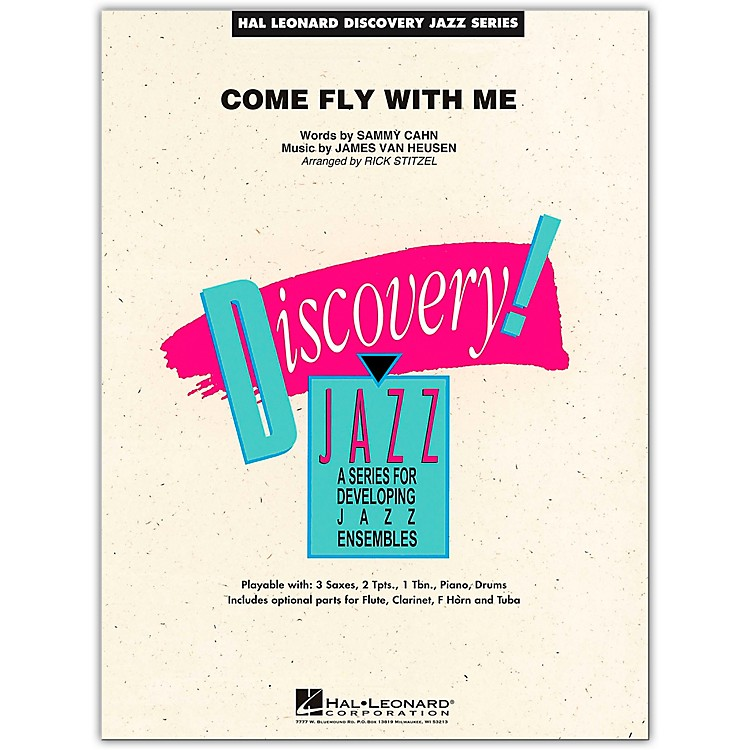 Hal Leonard Come Fly With Me - Discovery Jazz Series Level 1.5