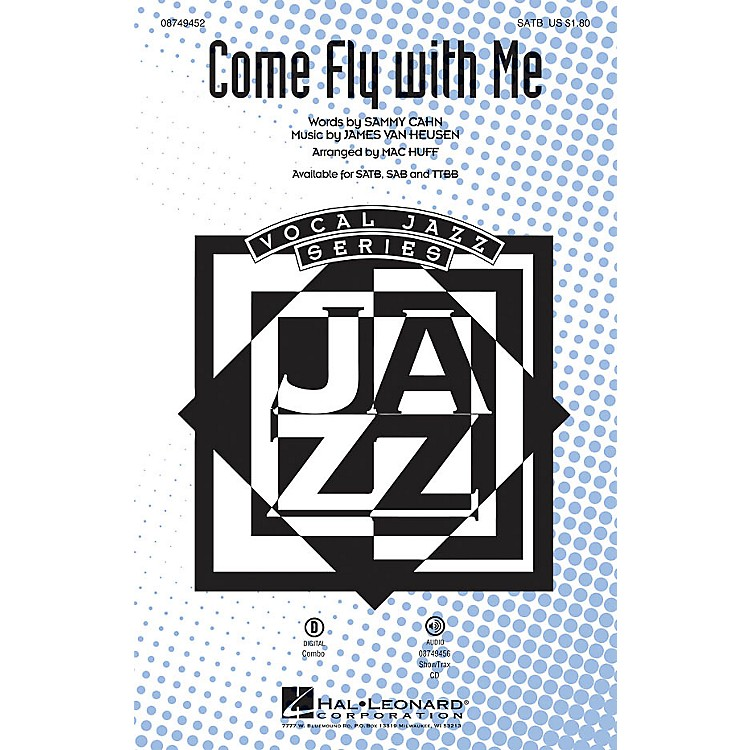 Hal Leonard Come Fly with Me ShowTrax CD by Frank Sinatra Arranged by Mac Huff