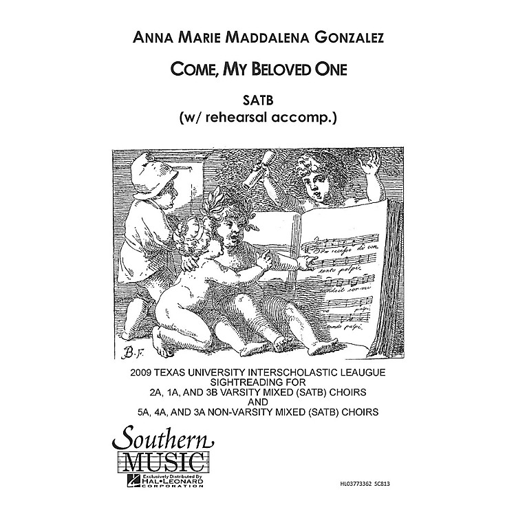 SouthernCome My Beloved SATB Composed by Anna Marie Gonzalez