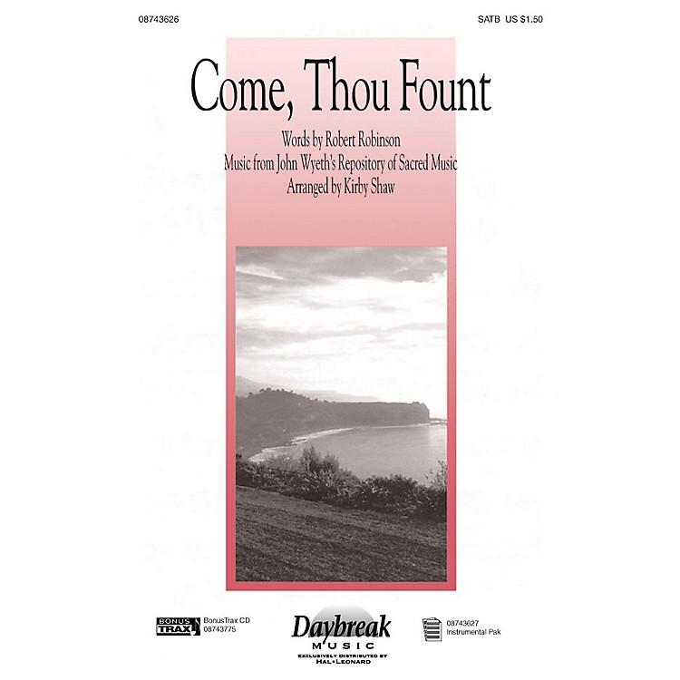 Hal LeonardCome Thou Fount I-pak IPAKR Arranged by Kirby Shaw