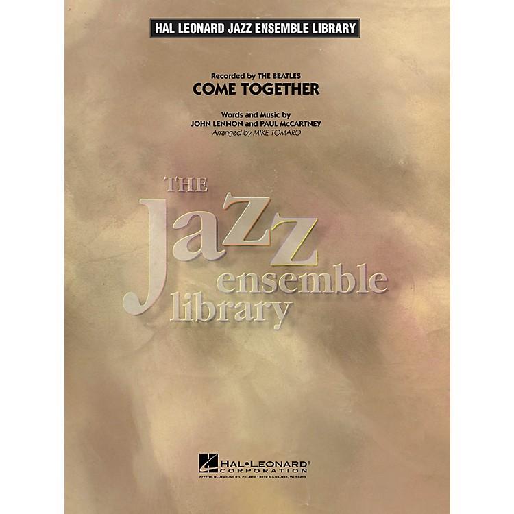 Hal LeonardCome Together Jazz Band Level 4 Arranged by Mike Tomaro