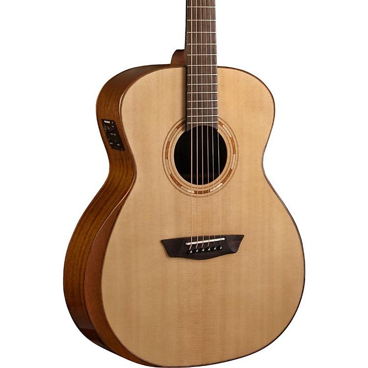 WashburnComfort Series Grand Auditorium Acoustic-Electric GuitarNatural