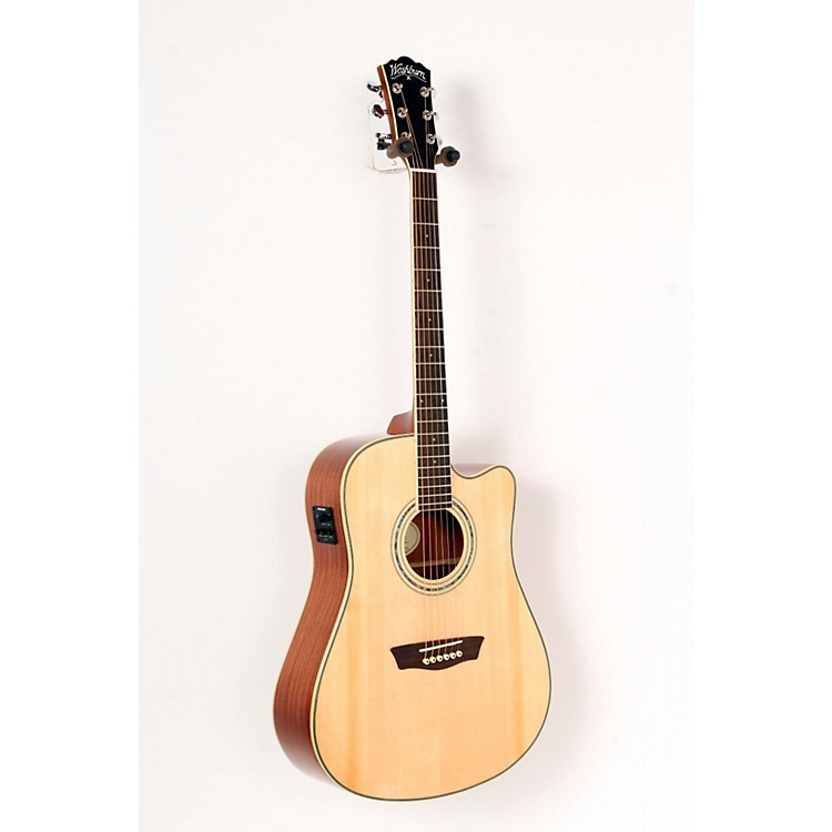 Washburn Comfort Series WCD18CE Acoustic-Electric Guitar Natural 888365729114