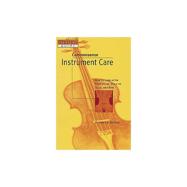 Hal LeonardCommonsense Instrument Care