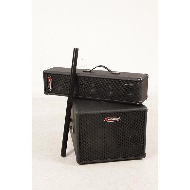 Harbinger Compact Portable PA System Black 888365852591