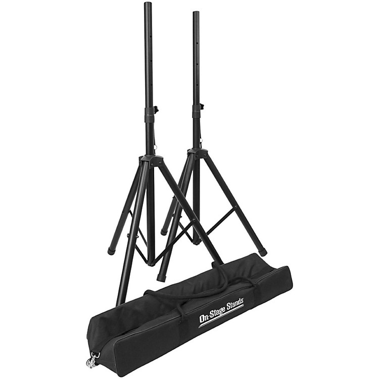 On-Stage StandsCompact Speaker Stand Pack