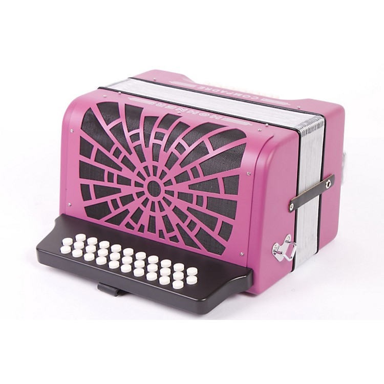 Hohner Compadre FBbEb Accordion Violet 886830549359