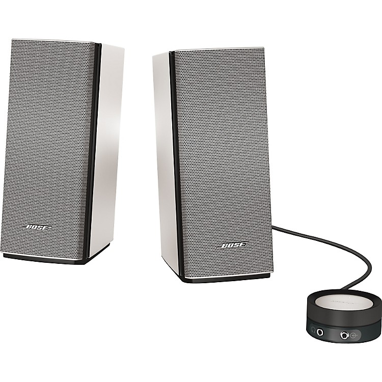 Bose Companion 20 Multimedia Speaker System Silver