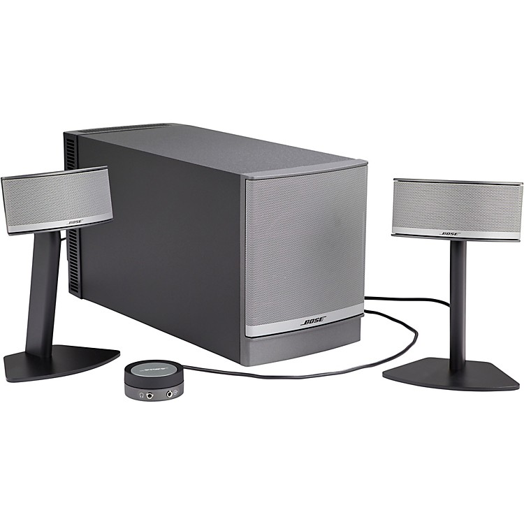 bose companion 5 multimedia speaker system music123. Black Bedroom Furniture Sets. Home Design Ideas