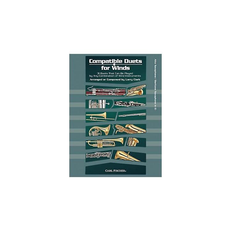 Carl FischerCompatible Duets for Winds: Alto Saxophone/Baritone Saxophone Book