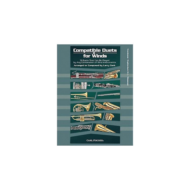 Carl FischerCompatible Duets for Winds: Trombone/Euphonium B.C. Book