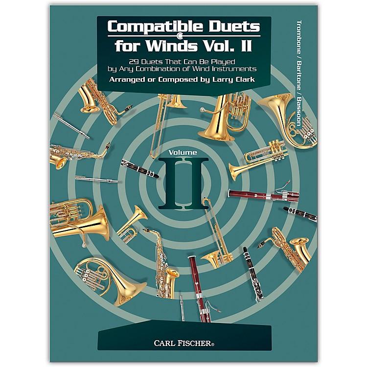 Carl FischerCompatible Duets for Winds Volume II - Trombone, Bassoon, Euphonium