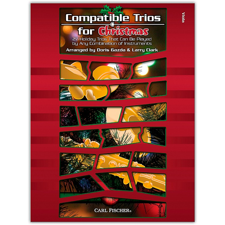Carl FischerCompatible Trios For Christmas – Viola