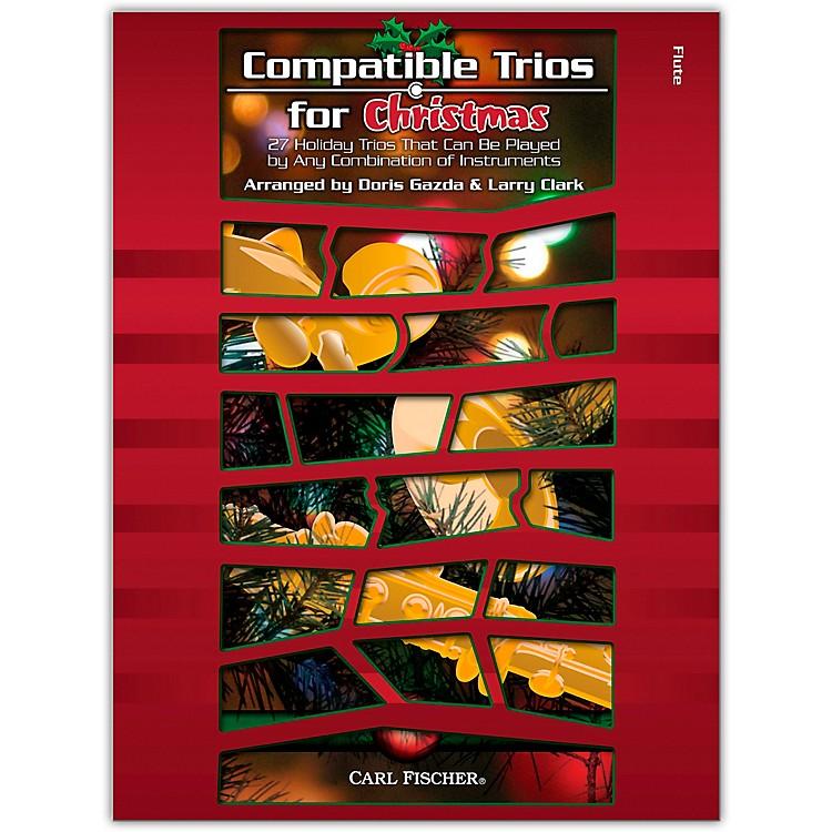 Carl FischerCompatible Trios for Christmas - Flute