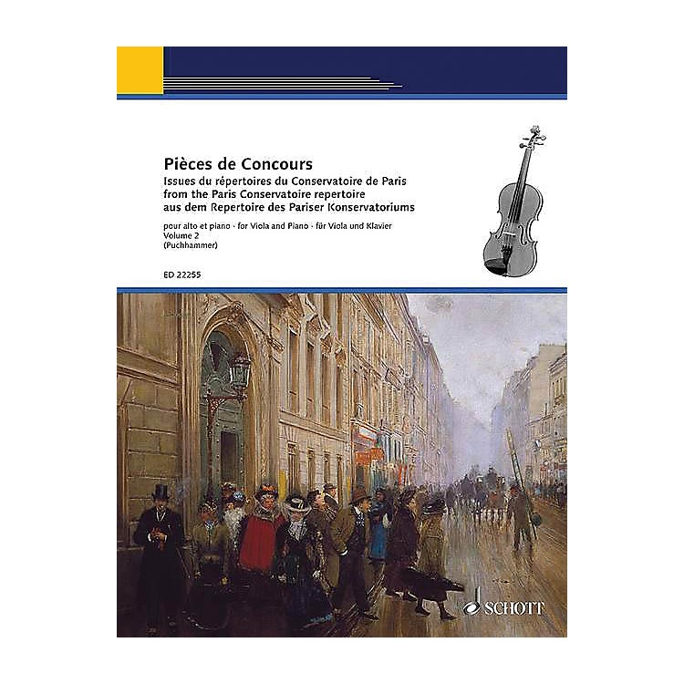 SchottCompetition Pieces Book 2 (for Viola and Piano) String Series Softcover Composed by Various