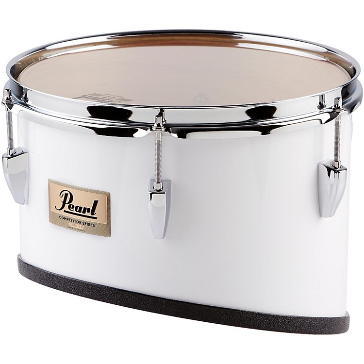 Pearl Competitor Series Individual  Marching Toms 12 in. White