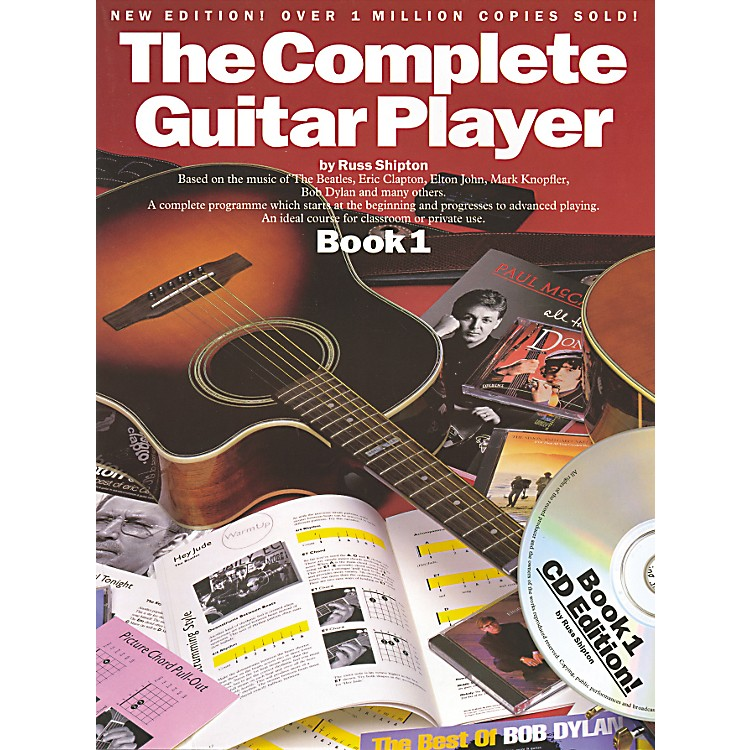 Music SalesComplete Guitar Player Book 1 with CD (New Edition)