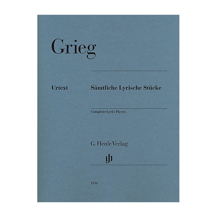 G. Henle Verlag Complete Lyric Pieces Henle Music Folios Series Softcover