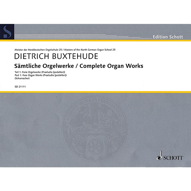 SchottComplete Organ Works Organ Collection Series Softcover