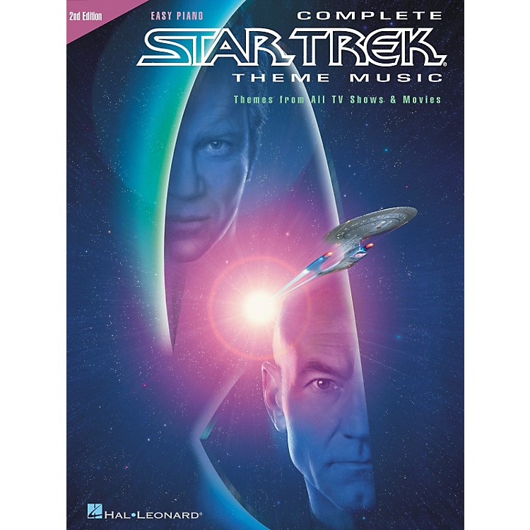 Hal Leonard Complete Star Trek Theme Music For Easy Piano