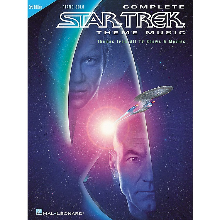 Hal Leonard Complete Star Trek Theme Music