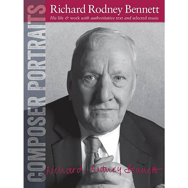 Wise PublicationsComposer Portraits: Richard Rodney Bennett Music Sales America Series Softcover