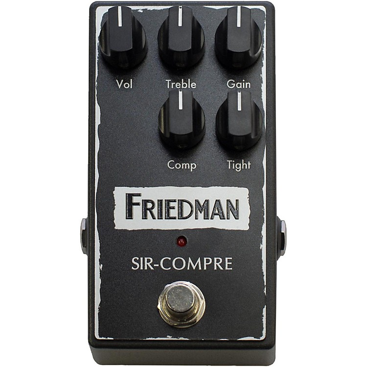 FriedmanCompressor Effect Pedal with Built-In Overdrive