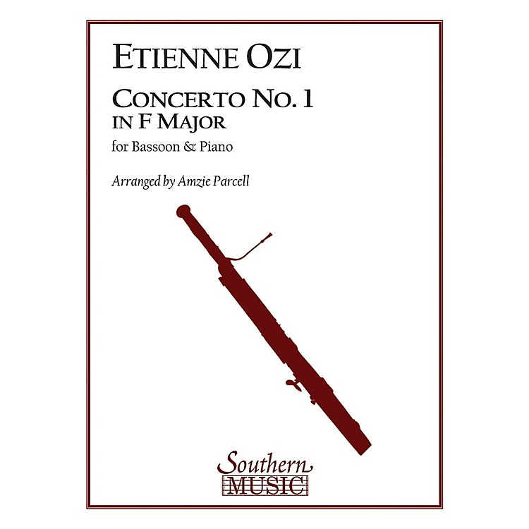 Southern Conc No 1 in F Maj (Bassoon) Southern Music Series Arranged by Amzie D. Parcell
