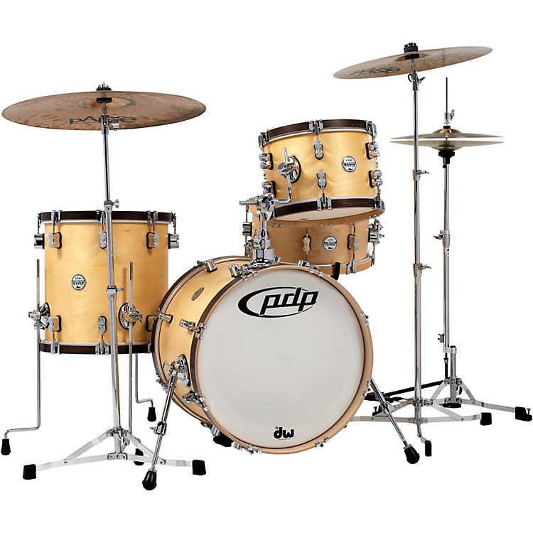PDP by DWConcept Classic 3-Piece Bop Shell PackNatural/Walnut
